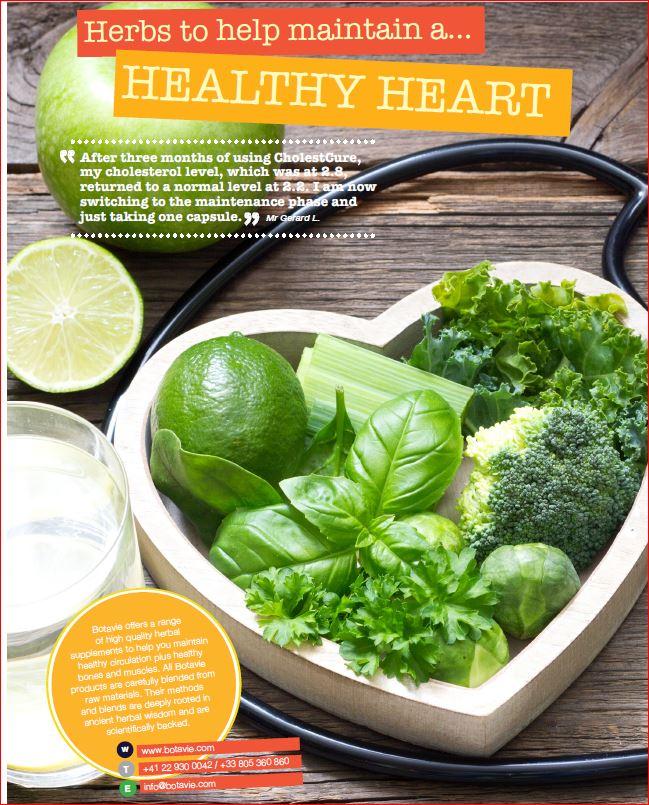 Medicinal herbs healthy heart