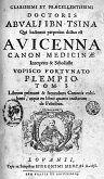 Canon Avicennae